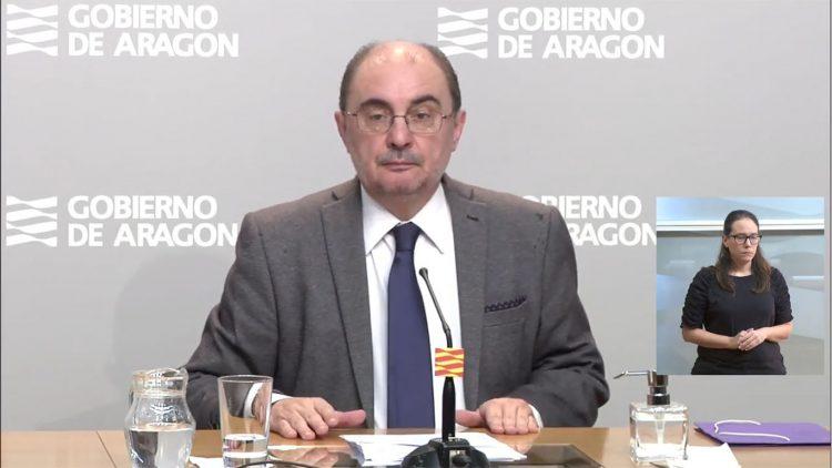 Rueda de prensa de Javier Lambán