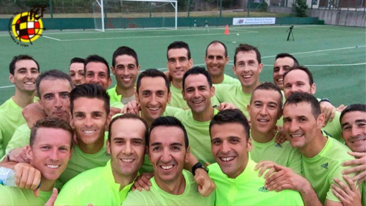 «Selfie» de los colegiados de la 1ª División de la temporada 2019-2020.