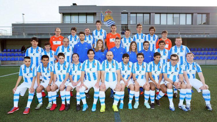 Plantilla del Málaga Liga Genuine